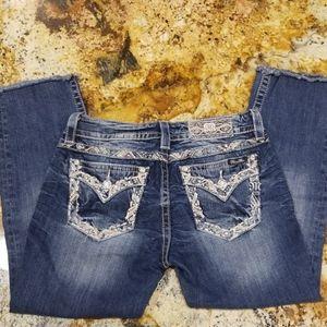Miss Me Crop Jeans